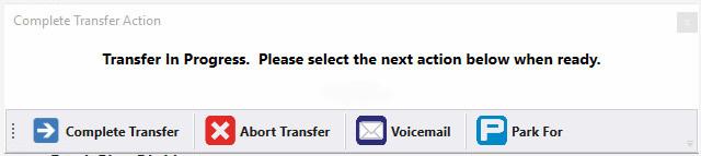 Skype for business supervised trasnfer