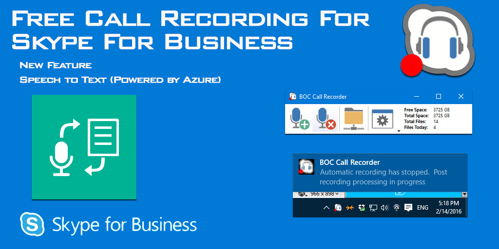 Free BOC Call Recorder